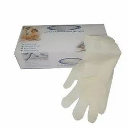 Latex White Examination Gloves, for Dental, Packaging Type: Box