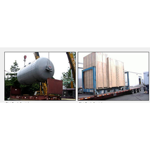 Transportation Service of Flat Rack Container