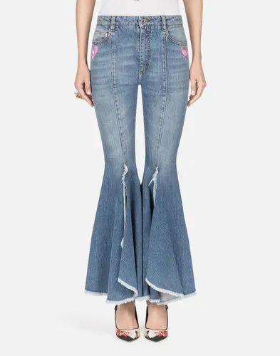 Plain Stretchable Denim  women Jeans