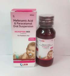 MEFENAMIC ACID100MG & PARACETAMOL250MG ORAL SUSPENSION