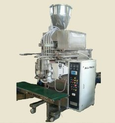 AUTOMATIC SANITIZER POUCH PACKING MACHINE