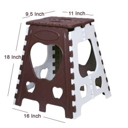 18 Inch Plastic Folding Stool