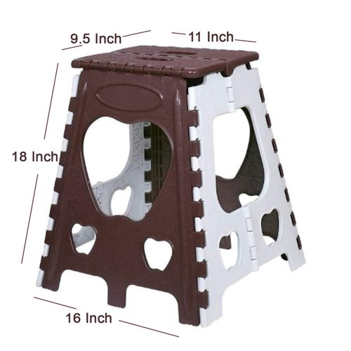 18 Inch Plastic Folding Stool