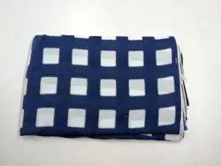 Indigo Blue Tie Dye handmade Block Print Fabric