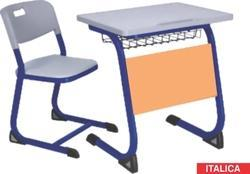Classroom Desk With Front Cover Modesty Heavy Bench Furniture