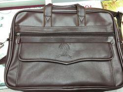 pu or faux leather laptop bags