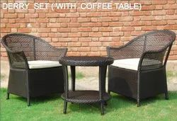 Wicker Bistro Patio Furniture Set
