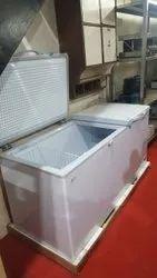 Double Door White Deep Freezer & Refrigerator (Brand Adwin) 550L