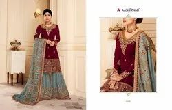 Aashirwad Presents Sharara Suits