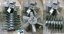 Aluminum Impeller 8 Blade Dia 500 mm