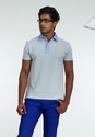 Plain And Printed Mens Cotton Fashion Polo T Shirt, Size: Small, Medium, Large, XL