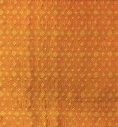 Lal10 Raw Cotton Silk Fabric, For Garments, GSM: 100-120