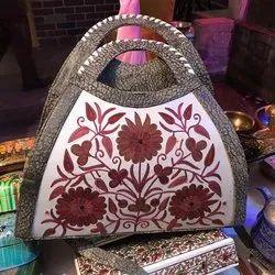Multicolor Shoulder Bag Kashmiri Handmade Bags, Size: Size : 12l X 8h Style: H13.3