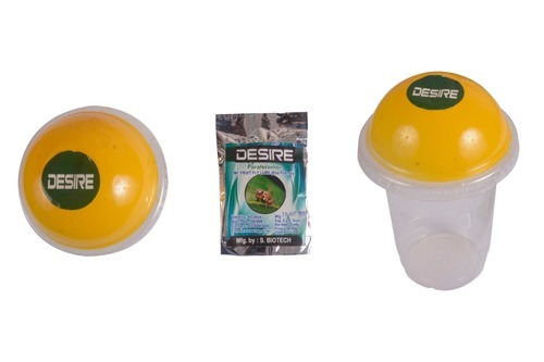 Fruit Fly Trap Soft Wood Desire Fruit Flying Trap, Packaging Type: Individually Sachet Packet
