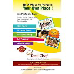 Catering Pamphlet Printing Service