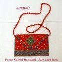 Purse Kutchi Bandhni