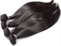 Natural Black & Natural Brown 100% Human Virgin Hair, Pack Size: 100 gm