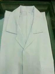 Plain Cotton White Doctor Coat, Size: S
