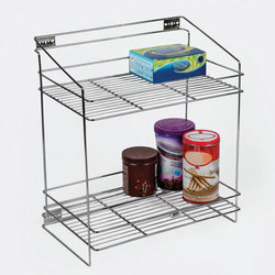 Stainless Steel Kitchen Pull Out 2 Shelf