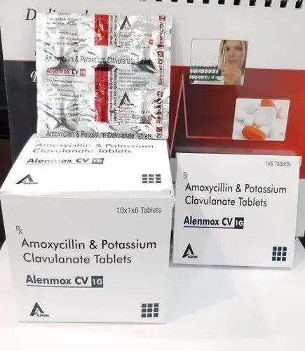 Amoxicillin 875mg Clavulanic Acid 125mg Tablet
