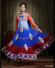 7207 Pakistani Anarkali Suits