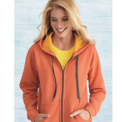 Women Zipper Hood