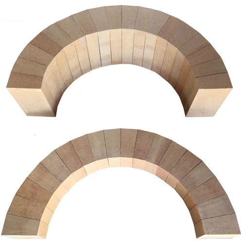 Fire Resistant Refractory Circle Brick