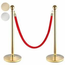 Stainless Steel Velvet Rope Queue Manager
