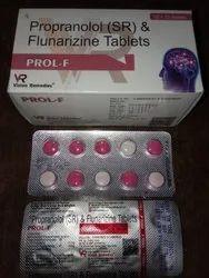 Propranolol (SR) And Flunarizine Tablet