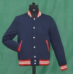 Knit Collar Fleece Jacket
