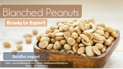baldha export Blanched Peanuts (Bold And Java ), Packing Size: 25 kg