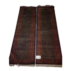 Embroidered Hand Made Woolen Carpet