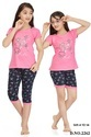 Girls Designer Capri Set