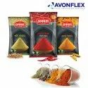 Plastic Spices Packaging Pouch