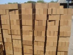 Ceramic Refractory Buff Yellow Refractory Fire Bricks, Packaging Type: Wooden Pallet Packing, Partition Walls