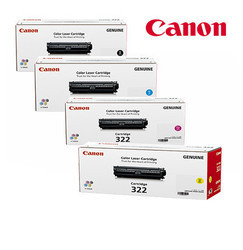 Canon 322 Black Toner Cartridge Set