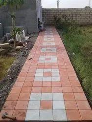 Outdoor Concrete Garden Paver Block
