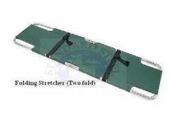 standard steel Orange Aluminum Folding Stretcher, Size: 210x55x15