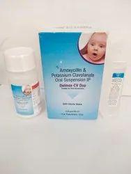 Amoxycillin And Potassium Clavulanate Oral Suspension( Delmox -CV Duo)