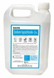 Liquid Bleach (NaOCl), 5%, CAS No- 7681- 52-9
