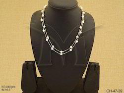Golden Engagement Polki Chain Jewellery
