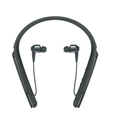 Sony WI-1000X Bluetooth Headset with Mic - Black