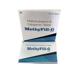 Methyfill G Tablets, Packaging Type: Box