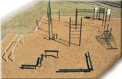 Outdoor Fitness 10 Station Course