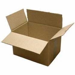 Rectangular Brown Cardboard Shipping Boxes