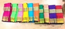 Cotton Checks Saree