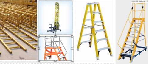 GRP Ladder - GRP Wall Supported Ladders Manufacturer from Ahmedabad