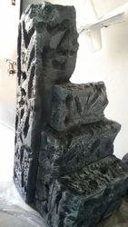 3D Rock Statue