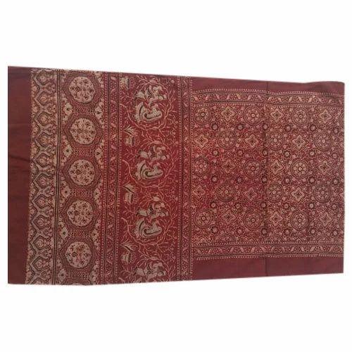 Gujarati Handicrafts Khadi Handloom Silk Cotton Saree Rs 850 Piece