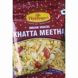 Haldiram's Khatta Meetha Namkeen, Packaging Type: Packet